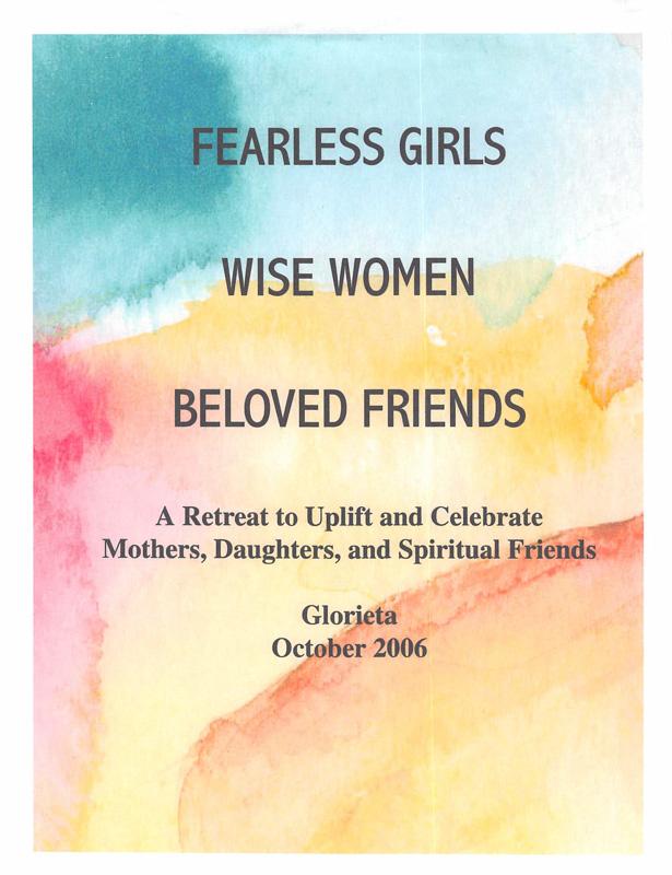 Fearless Girls Wise Women Beloved Friends