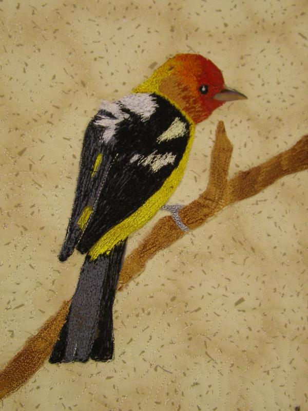 Depicting Birds in Fabric